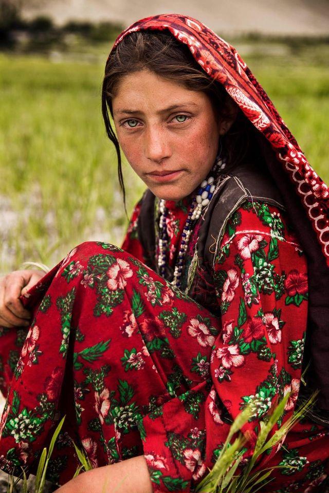「世界の美女」アフガニスタン