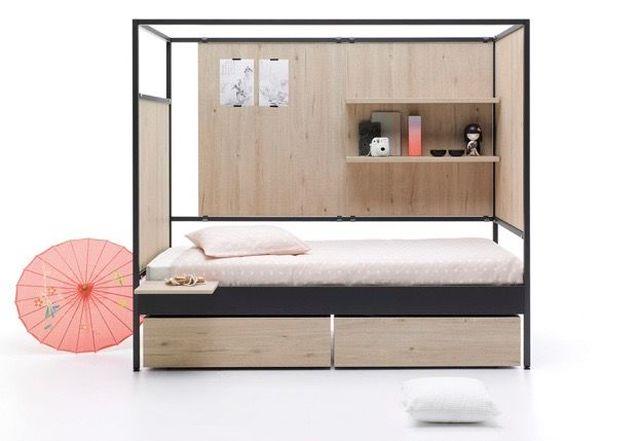 自分好みに変えられるベッド